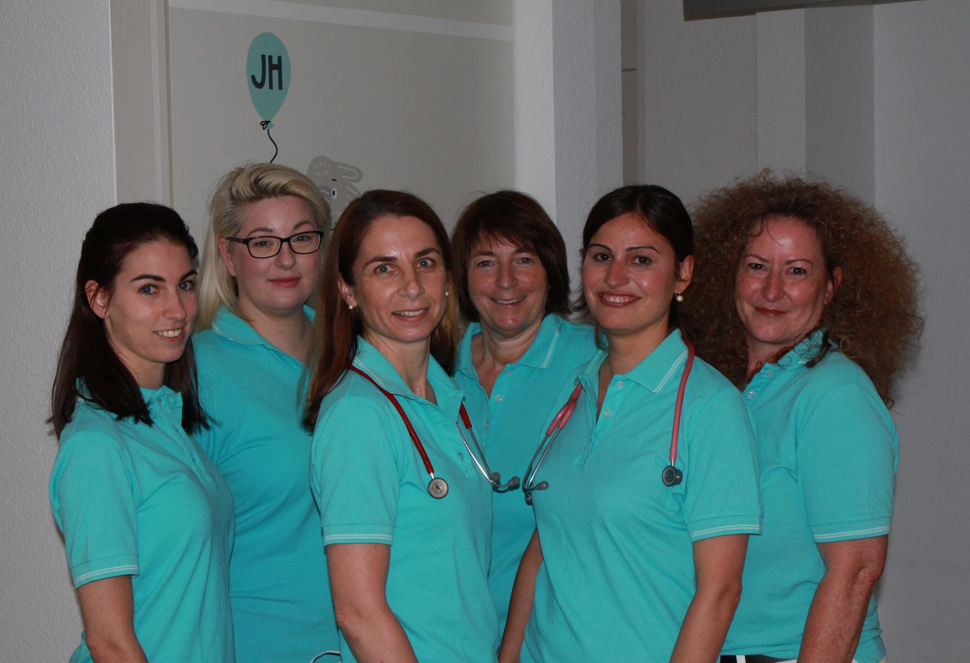 Kinderarzt Stuttgart Möhringen Team